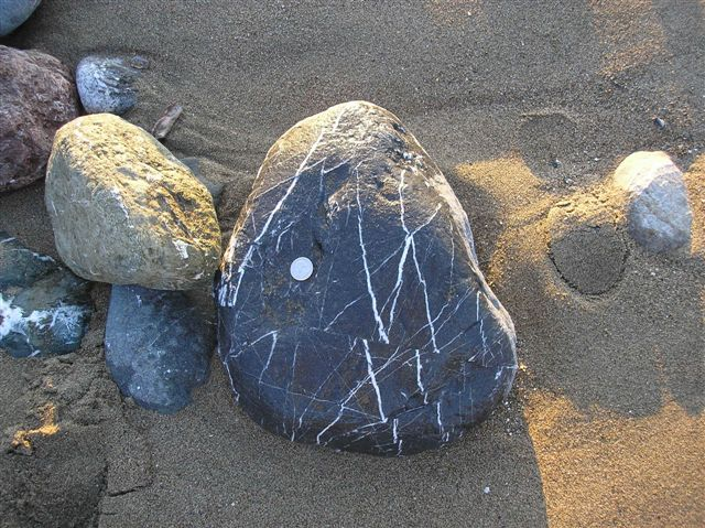 Plate Shift rock collecting image